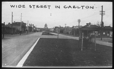 Canning Street Carlton in the 1930s