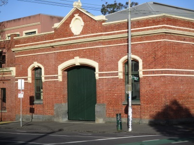 Cable Tram Engine House in Rathdowne Street